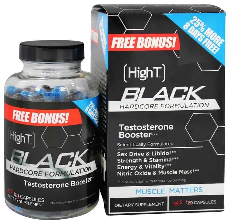 High T Black Testosterone Booster